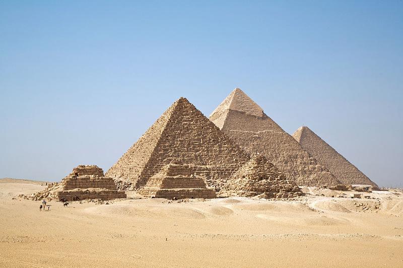 Pyramide de Gizeh - Égypte antique