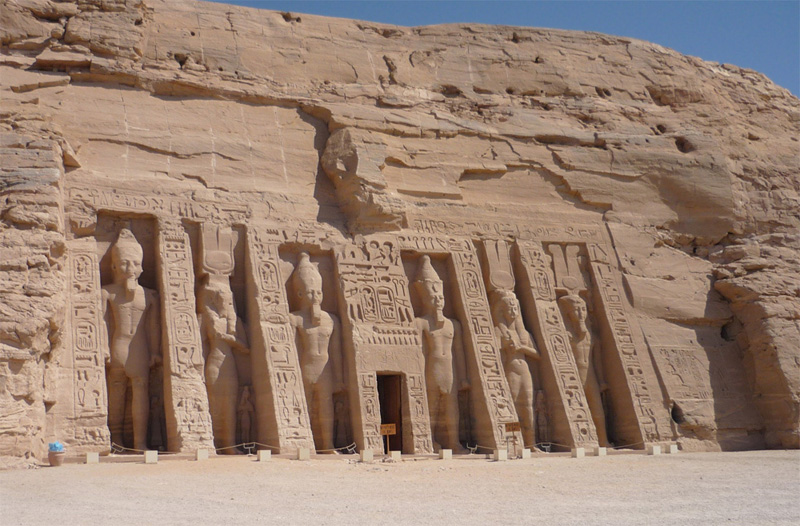 Abou Simbel, Égypte antique