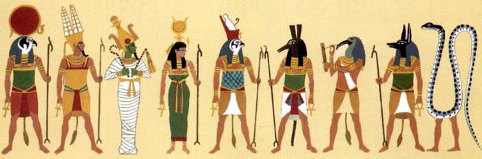 Dieux Égypte antique
