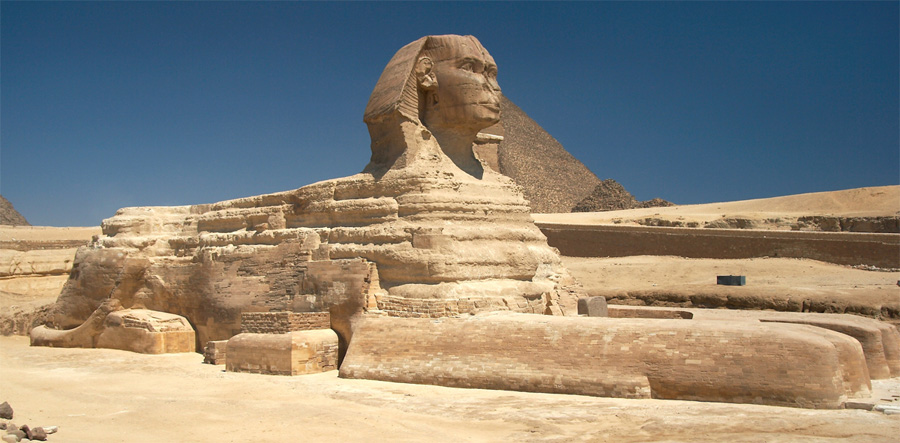 Grand sphinx, Égypte antique