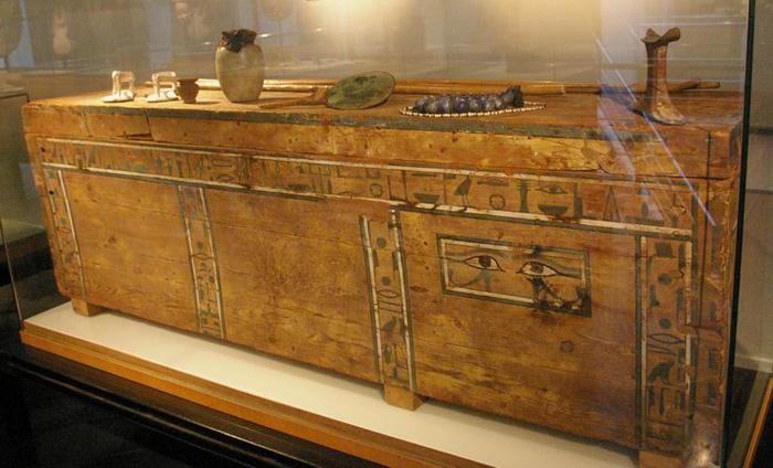 Sarcophage, Égypte antique