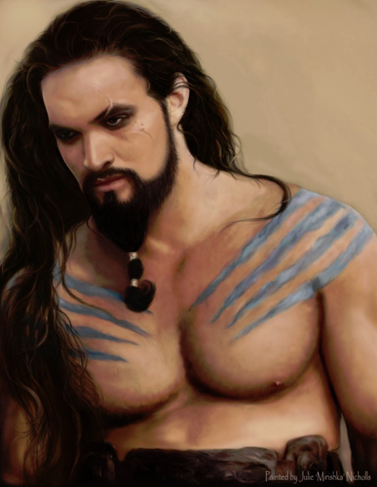 Drogo le Barbare, Game of thrones