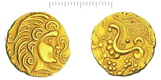 Pièces gauloise, Europe, antiquité