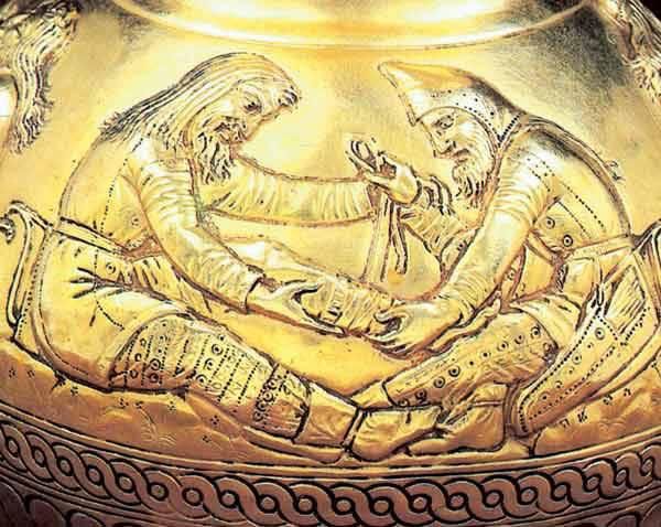 Or scythe, Europe, antiquité