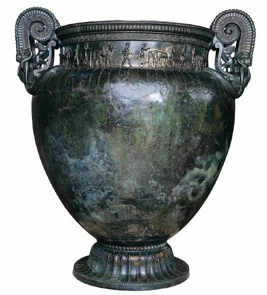 Vase tombe Vix, Europe, antiquité