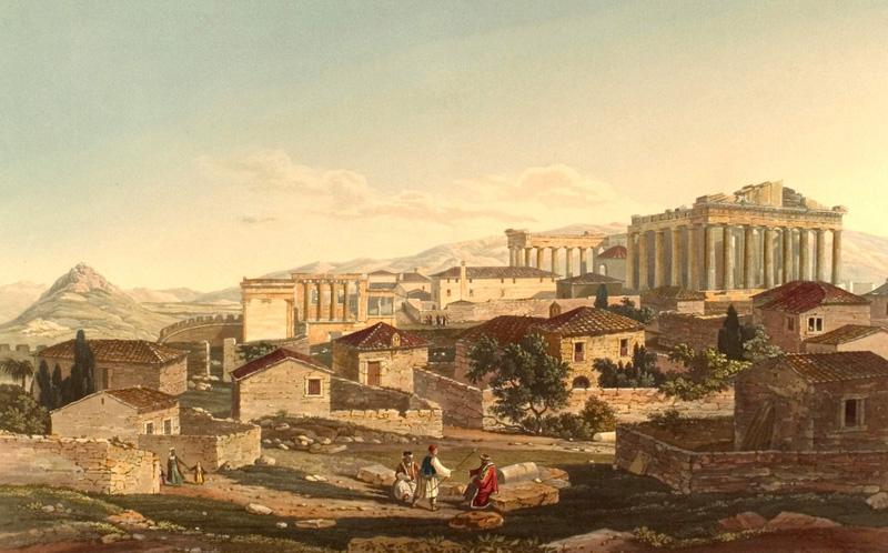 Parthenon d'Athènes, Grèce antique