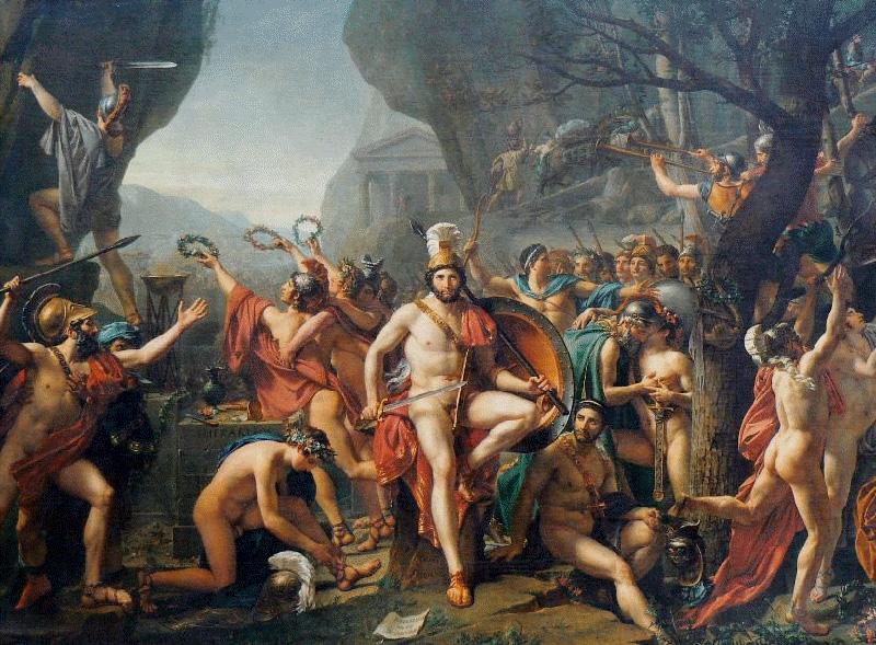 Guerres médiques, bataille Thermopyles