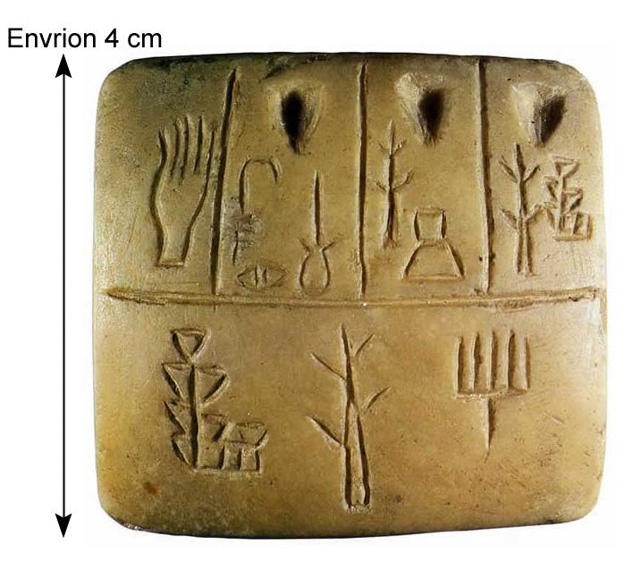Premières écritures en Mésopotamie