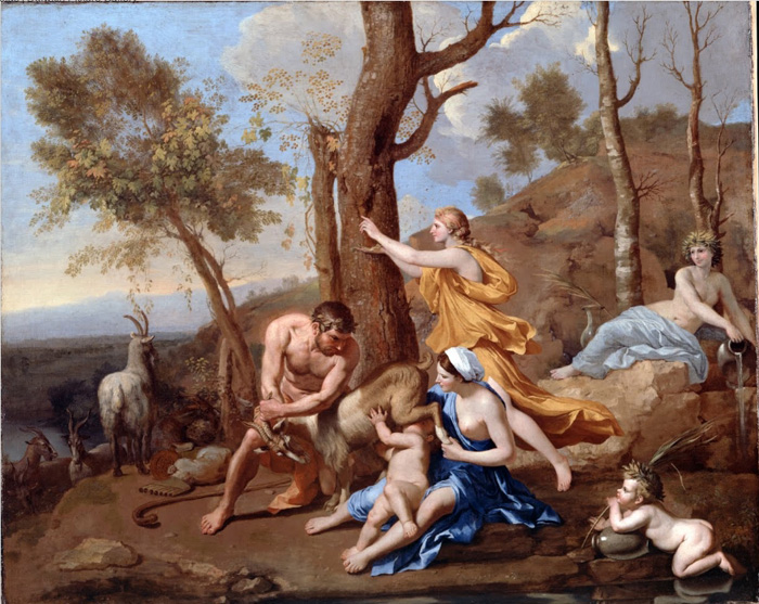La nourriture de Jupiter, mythologie romaine
