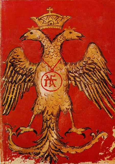 Aigle à deux têtes, Empire bizantin