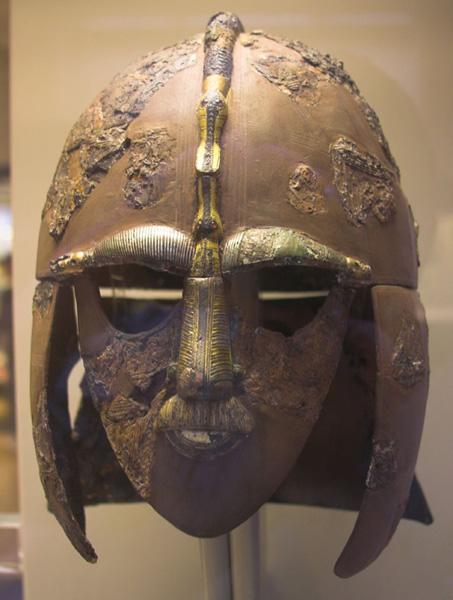 Sutton Hoo, Bâteau funéraire Anglo-Saxon