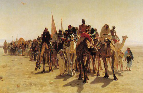 Hégire de Mohammed en 622, Moyen-âge
