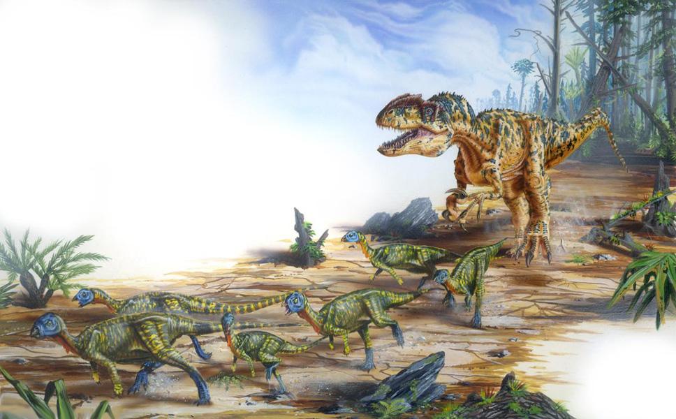 Dinosaures : Reptiles, lézards pendant la préhistoire