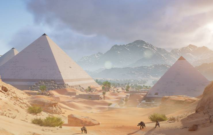 Ancien Empire en Egypte pendant l'antiquité