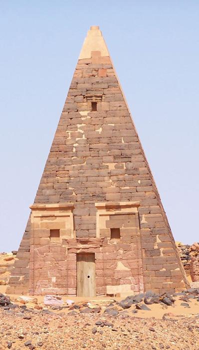 Pyramide Méroé, Afrique, antiquité