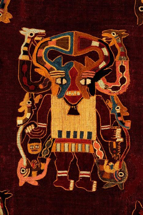 Broderie Paracas, Pérou antique