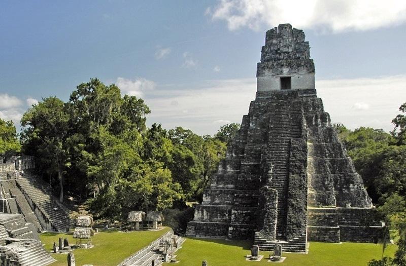Temple Maya, antiquité