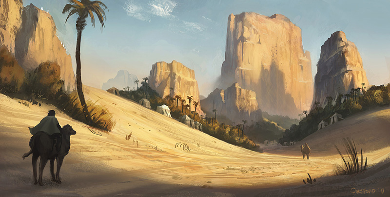 Al fayoum oasis, moyen empire