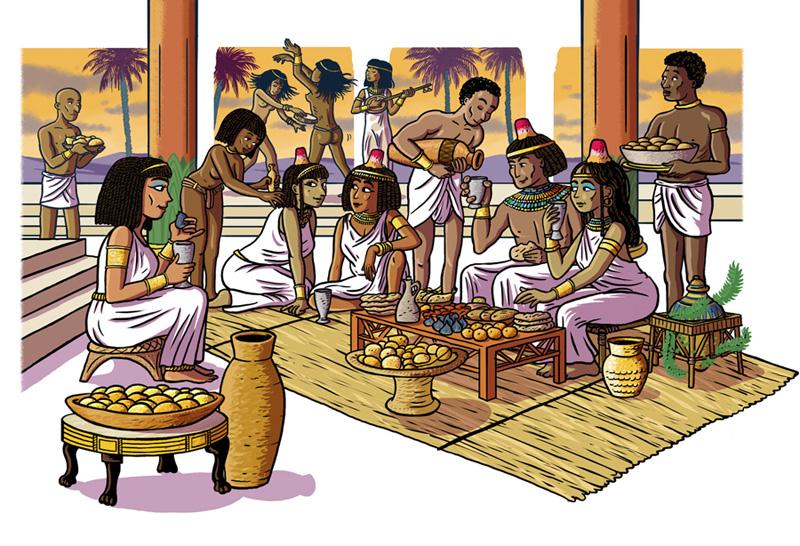 Fête égyptienne Ancien Empire