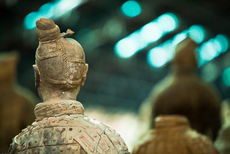 Armée de terre cuite, Chine antique