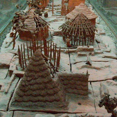 Village banpo en Chine antique