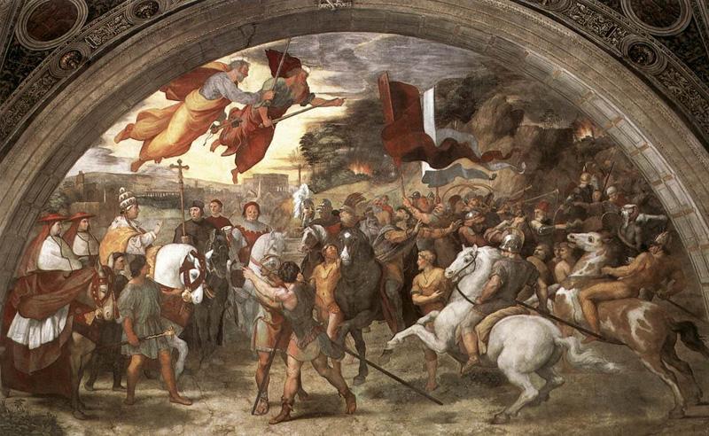 Attila le Huns contre Léon le Grand