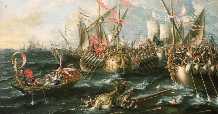 Bataille d'Actium, Rome antiquité