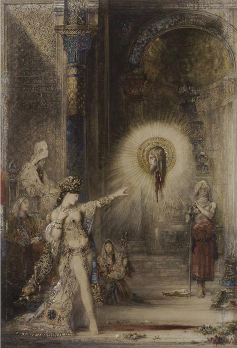L'apparition de Gustave Moreau