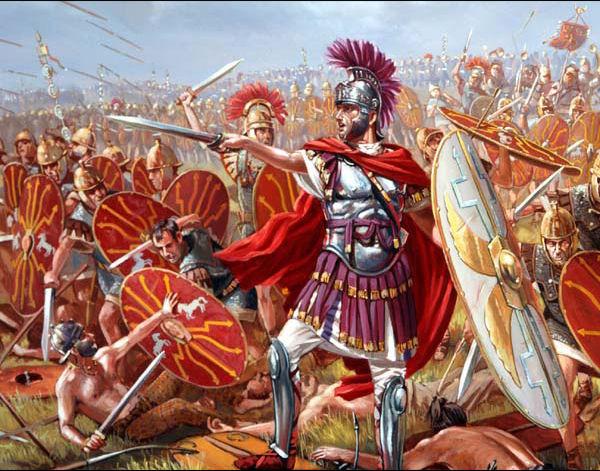 Chute de Rome, antiquité