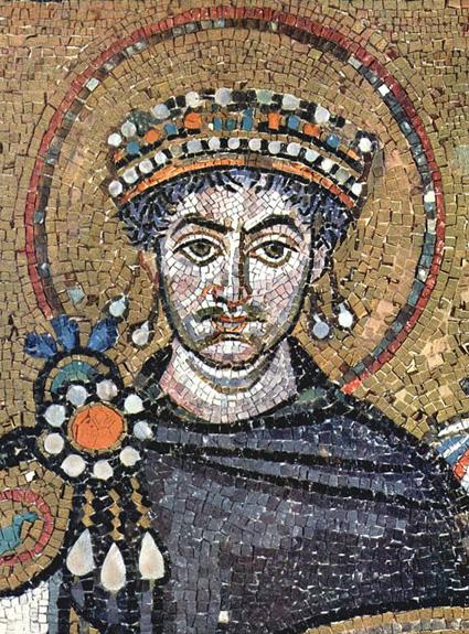 Justinien, Empire bizantin