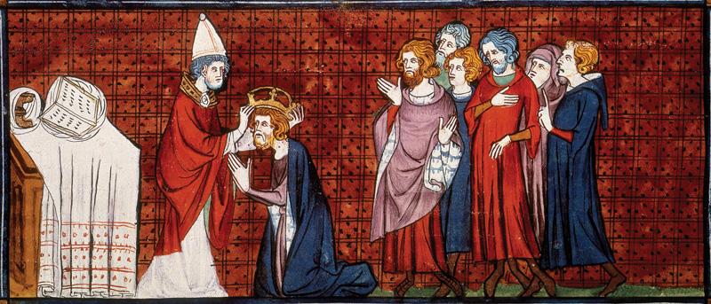 Charlemagne, Couronné par le Pape, Europe, Moyen-âge