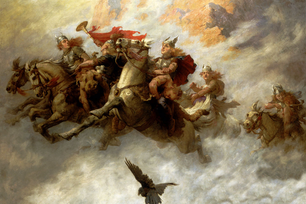 Vikings au Walhalla, Moyen-âge, Europe