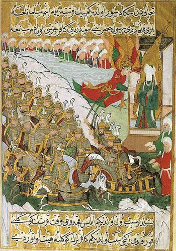 Bataille d'al Badr, FOndation de l'islam, moyen-âge, Musulmans