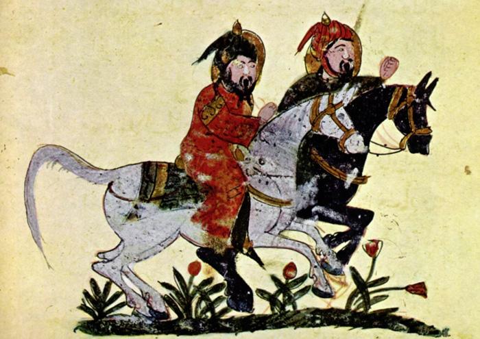Cavaliers arabe, Moyen-Orient, Moyen-âge