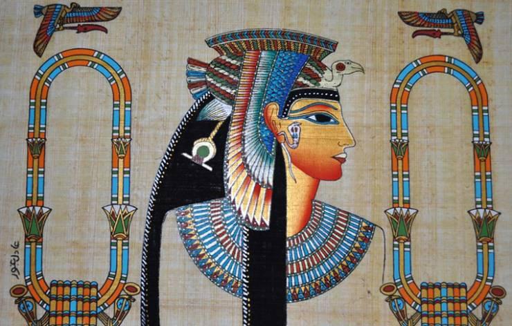 Cléopâtre en Égypte pendant l'antiquité