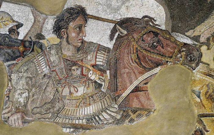 Alexandre Le Grand en Grèce pendant l'antiquité