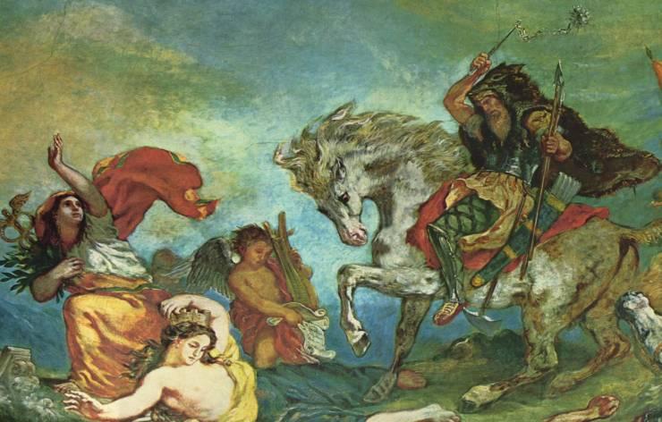 Attila le Hun en Europe pendant l'antiquité