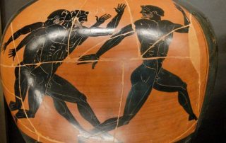 Grèce période archaïque, jeux olypiques