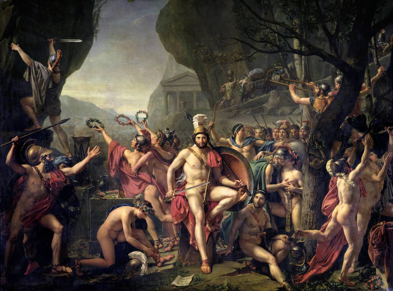Léonidas en Grèce pendant l'antiquité