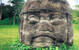 Olmèques en Amérique pendant l'antiquité