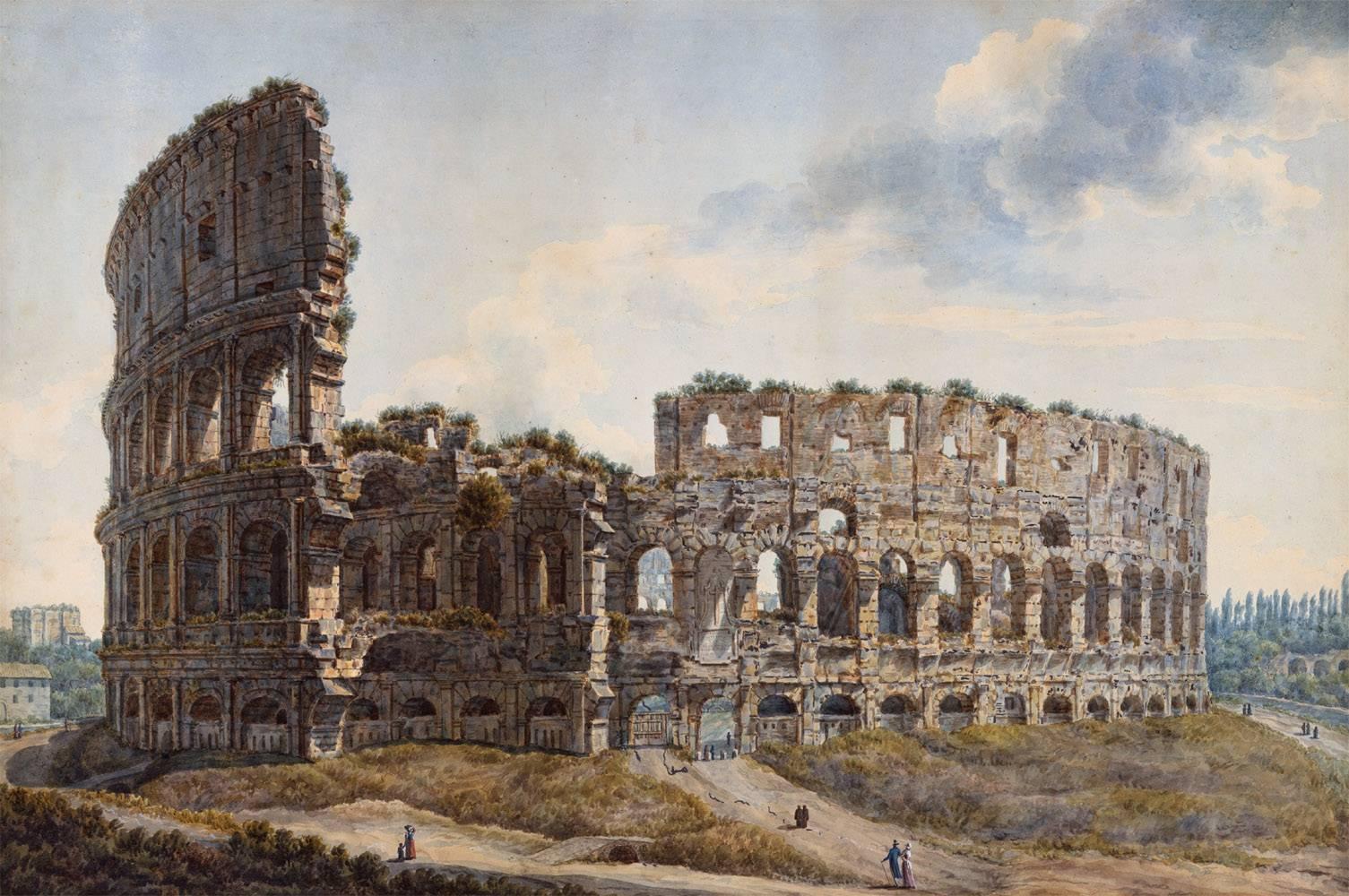 Colisée de Rome par Abraham Louis Rodolphe Ducros
