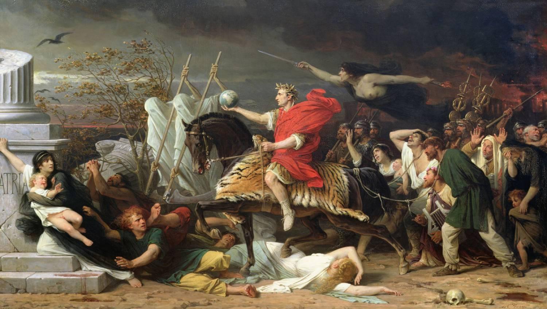 Jules César par Adolphe Yvon
