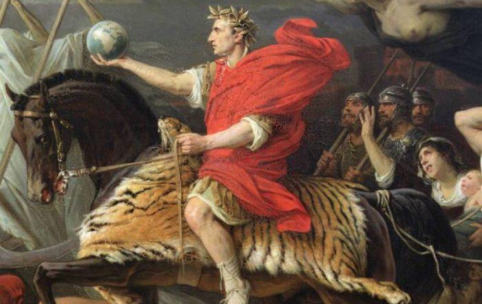 Jules César à Rome pendant l'antiquité