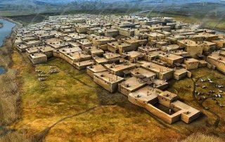 Çatal Höyük au Moyen-Orient pendant l'antiquité