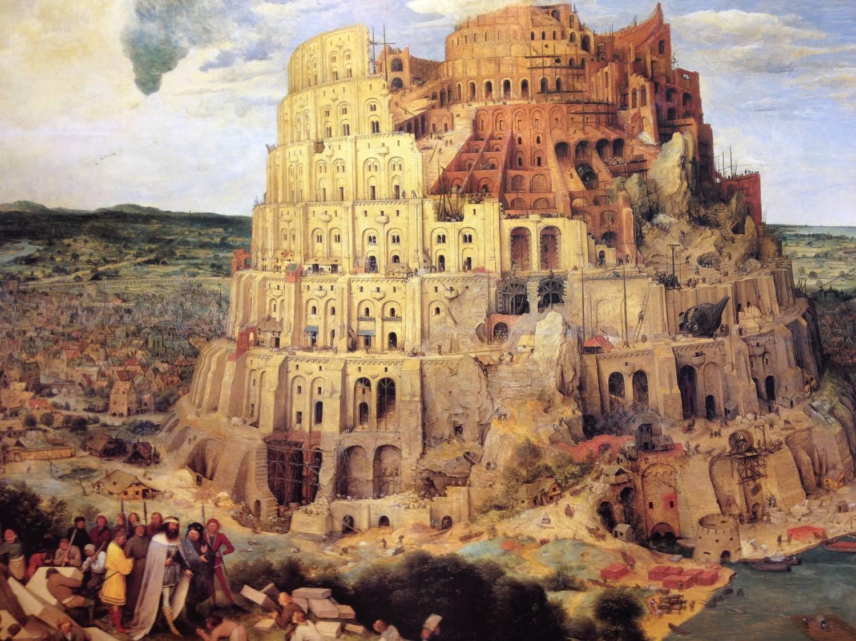 Tour de Babel par Pieter Brueghel